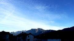 Blue Sky (alexandrosmccarthy) Tags: cielo cieloazzurro sky bluesky nuvole orizzonte serenità montagne pizzodilevico cimavezzena valsugana trentino scie sciediaerei clouds it flickr