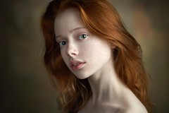 Kate (Alexander Vinogradov) Tags: ginger redhair redhead pretty young eyes 135mm sony captureone face headshot studio russian girl cute beauty
