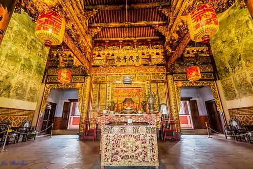 Khoo Kongsi Temple, George Town, Penang Malaysia