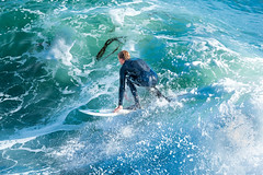ArchitectGJA-7696.jpg (ArchitectGJA) Tags: lighthousepoint surfing californiababy hurley wetsuit santacruz ripcurl xcel lighthousefield california cliffs beach marineanimals coast mermaid waves streetphotography patshaughnessy surfingsteamerlane coastlife steamerlane oneill montereybay