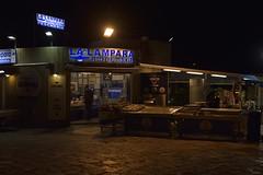 Fish market, Gallipoli (Peder Sterll) Tags: italia italiy puglia gallipoli nikon d7100 pescivendolo fish market centro storico pescheria la lampara street light nikkor 24mm f14