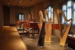 Harpes, clavecins et pianoforte (Musée de la musique, Bâle)