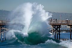IMG_0127 (supercrans100) Tags: seal beach big waves backwashes surfing bodysurfing bodyboarding skimboarding photography so calif beaches