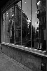 windows (bat7000) Tags: bw blackandwhite fujifilm xt2 street streetshot paris reflection windows arnaudvautrin shop mannequin building