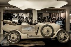 Austro Daimler Prinz Heinrich (genelabo) Tags: austro daimler prinzheinrich video projection car door mattsee austria fahrtraum museum old oldtimer rennwagen genelabo porsche white