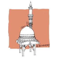 Gumbad-e-khazra :) - #TabishereArt #design #doodling #doodle #art #illustration #drawing #draw #masjidnabawi #gumbadekhazra #dailydrawing #sketch #sketchbook #dailysketch #pen #pencil #inktober #ink #beautiful #instagood #inktober2016 #islam #brushpen #ba (TABishere) Tags: instagram gumbadekhazra tabishereart design doodling doodle art illustration drawing draw masjidnabawi dailydrawing sketch sketchbook dailysketch pen pencil inktober ink beautiful instagood inktober2016 islam brushpen background gumbad penandink