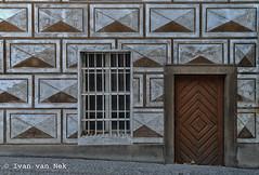 Decorated (Ivan van Nek) Tags: praha prague praag nikond3200 d3200 nikon tsjechië českárepublika česko czechrepublic czechia uprašnéhomostu stucwerk stucco sierpleister plaster cementplaster