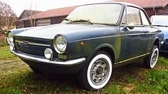 Fiat 850 Vignale (vwcorrado89) Tags: fiat 850 vignale sport special coupe michelotti rust rusty old abandoned