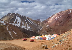 34base (Robelier Photoexplorer) Tags: camping nature outdoor chile mountains andes southamerica snow landscape