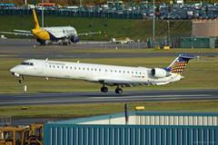 D-ACNP Eurowings CRJ-900 EGBB 9/11/16 (David K- IOM Pics) Tags: d dacnp bombardier crj crj9 crj900 egbb ewg eurowings bhx birmingham elmdon airport