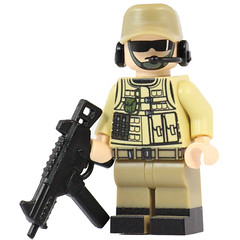 Private Military Contractor is Back! (X39BrickCustoms .com) Tags: lego custom printed minifigure minifig private contractor ump45 callofduty battlefield guns ammo
