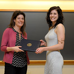 Professor Eva Pomerantz, Maureen Gray: Honors in Psychology & James E. Spoor Scholarship recipient