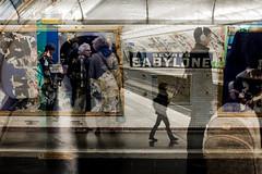 Paris So Far #22 (Jean Banja) Tags: paris metro double exposures france people