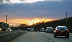 Sunset over 287 (craig grieco) Tags: nikon d90 sunset sun set new jersey nj
