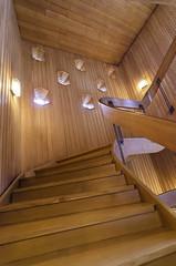 Winding Staircase (worm600) Tags: norway bergen bergenhus festning bergenhusfortress haakonshall