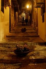 Vicolo..in notturno (dona(bluesea)) Tags: vicolo alley notturno night cefalù sicilia italia