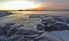 Fboda, my favorite place (Mika Lehtinen) Tags: fboda sea cold freezing frozen is stenar havet sunsetting nikond600 winter