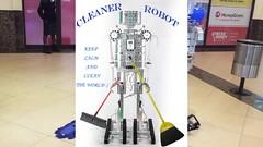 Cleaner Robot (mikailalici) Tags: robot robots robotics roboticsclub filmmaking filmmaker videoproduction filming videography videodirector director video cinematic stemrobotics stem cleaner projects