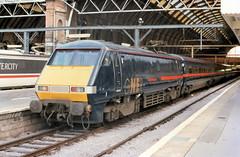 91019 (R~P~M) Tags: train railway electric locomotive 91 gner kingscross seacontainers london england uk unitedkingdom greatbritain