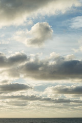 Late afternoon clouds I. (Sad Jebbour) Tags: ocean sea summer seascape beach clouds landscape 50mm mar nikon afternoon sid august el atlantic morocco maroc late marruecos rabat oceano atlantico abed 2015 d3200 temara harhoura saadjebbour