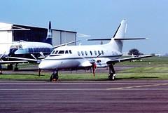 OO-IBJ Jetstream 31 IBIS CVT 29-04-1987 (cvtperson) Tags: airport ibis jetstream coventry bae 31 cvt egbe ooibj