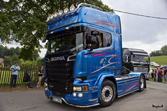 "Scania R Streamline Topline Blue Stream "" HEBIK "" (CZ) (magicv8m) Tags: blue truck stream transport r cz trans scania streamline lkw tir 2015 sraz zlin topline hebik"