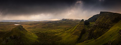 Trotternish (GenerationX) Tags: panorama rain weather landscape evening scotland highlands rocks isleofskye unitedkingdom scottish neil gb prints cleat barr trotternish landslip oldmanofstorr staffin quiraing rona flodigarry thestorr lochcleap lochmealt soundofraasay staffinbay biodabuidhe isleofraasay beinnedra canon6d caolrona cuithraing creagalain trndairnis eileanfladday roundfold eileantigh kvirand