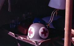 helmet (rentavet) Tags: nikkormatel konicacenturia400asa ddayconneaut