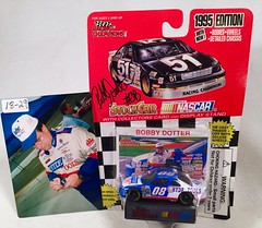 #18-29, Bobby Dotter, Signing, Racing Champions, 1995, Hyde Tools, #08, Busch, (Bobby is in Hyde Tools Drivers Uniform) (Picture Proof Autographs) Tags: auto classic cars scale car sign real toy toys photo model automobile image display models picture images collection vehicles photographs photograph collections nascar displays 164 vehicle driver proof session autoracing autos collectible collectors signing automobiles collectibles authentic sessions collector drivers genuine diecast winstoncup carded buschseries inperson 164th photoproof authenticated blisterpacks pictureproof