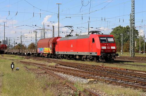 BR 145 020-4 Basel Bad Bhf