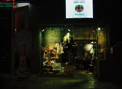 ... (june1777) Tags: snap street seoul hongdae night light mamiya 645 mamiya645 sekor c 80mm f19 kodak portra 800 pro tl