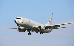 Madfox P8 (calzer) Tags: la exercise 5 navy fox warrior boeing mad poseidon usn joint nato patron lossiemouth p8 vp5 madfox