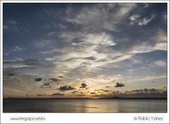 La Manga IV (P. Yez) Tags: sunset sea espaa beach night clouds atardecer noche mar spain sand europa europe cloudy playa murcia lamanga marmenor lamangadelmarmenor mediterrneo mediterraneansea regindemurcia