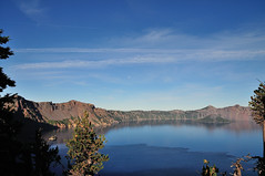 Crater Lake National Park (J-Fish) Tags: moon lake oregon nationalpark caldera craterlake phantomship wizardisland craterlakenationalpark d300s 1685mmf3556gvr 1685mmvr