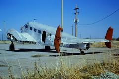 UC-45J Expeditor 67212/031 ex VT-10 U.S.Navy. Coolidge airfield, Arizona, 24-10-1995. (MASDC code 1C237) (Aircraft throughout the years) Tags: arizona coolidge usnavy c45 expeditor uc45j