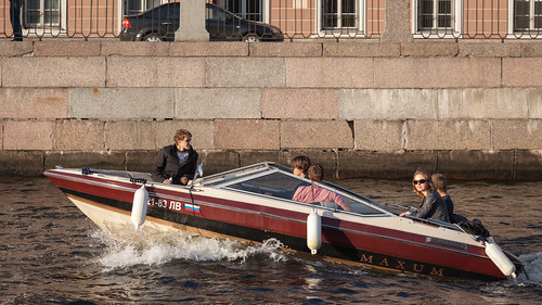 Walking along the canals and rivers of Saint Petersburg