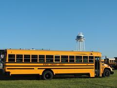 Mendon Community Schools (Nedlit983) Tags: blue school bus bird vision