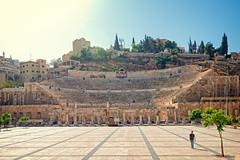 the Roman Amphitheatre in Amman, Jordan (CamelKW) Tags: amman jordan romanamphitheatre jordan2015