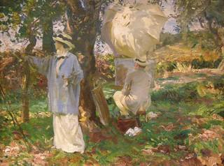 John Singer Sargent, The Sketchers, 1913