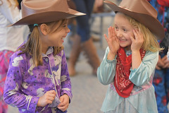 friends (annburlingham) Tags: girls anna kids laughing children candid hats winner anastasia tcf unanimous november2015 thechallengefactory