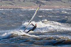 PC310360-Edit (Brian Wadie Photographer) Tags: gulls oystercatcher windsurfing kiting em1 goodlight 14xtc avonbeach canon70300lis hemgistburyhead