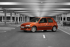 Edit done (Pierce O'Connor) Tags: orange french 11 106 peugeot minilights