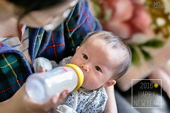 Happy new year! (Moson Kuo) Tags: portrait baby nikon infant bokeh sigma newborn hdr    2015  85mmf14   d800e