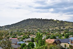 Conder and Tuggeranong Hill in Southern Canberra (AndyBrii) Tags: australia canberra banks conder