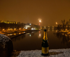 Last Man Standing (Chris in Czech) Tags: new prague year sekt happynewyear