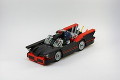 1966 Batmobile (BenSpector42) Tags: robin lego 1966 batman batmobile adamwest burtward