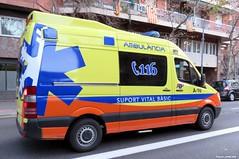 Ambulance (Francis Lenn) Tags: ambulance emt andorra adp pirineu ambulancia ambulància