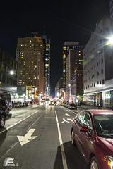 Avenida Manhattan (fernandoeldeubeda) Tags: newyork manhattan eeuu noche trafico