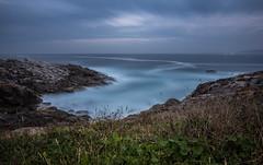Otoo en A Corua (Nacho Manotas) Tags: espaa galicia acorua paseomaritimo nd1000 largaexposicion spain longexposure mar sea costa coast otoo autumn