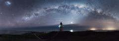 Waipapa_Lighthouse_26L8379-P3E (Digital Negative) Tags: yellow stars milky way kiwi lighthouse waipapa southland nz newzealand light venus sea seashore maganellic galaxcy